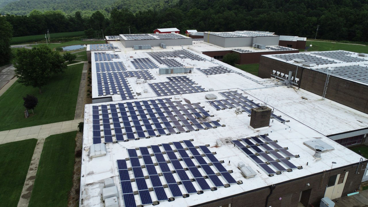 Federal Hocking Local Schools solar array